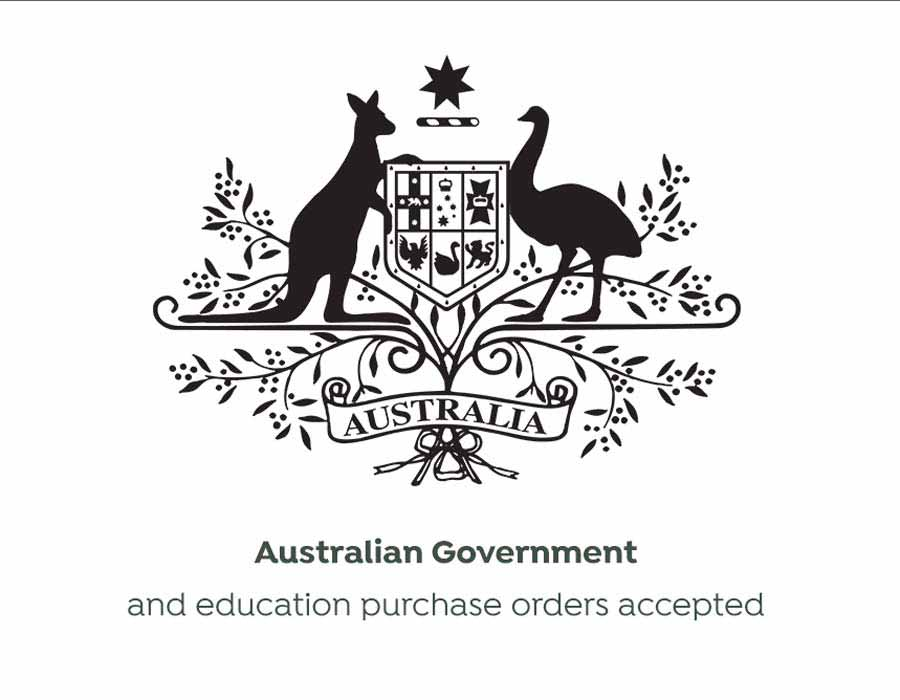We accept Australian Government and Education purchase orders