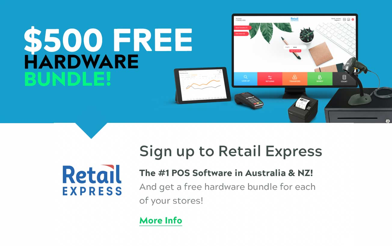 FREE $500 Retail Express Bundle. Click for more information.