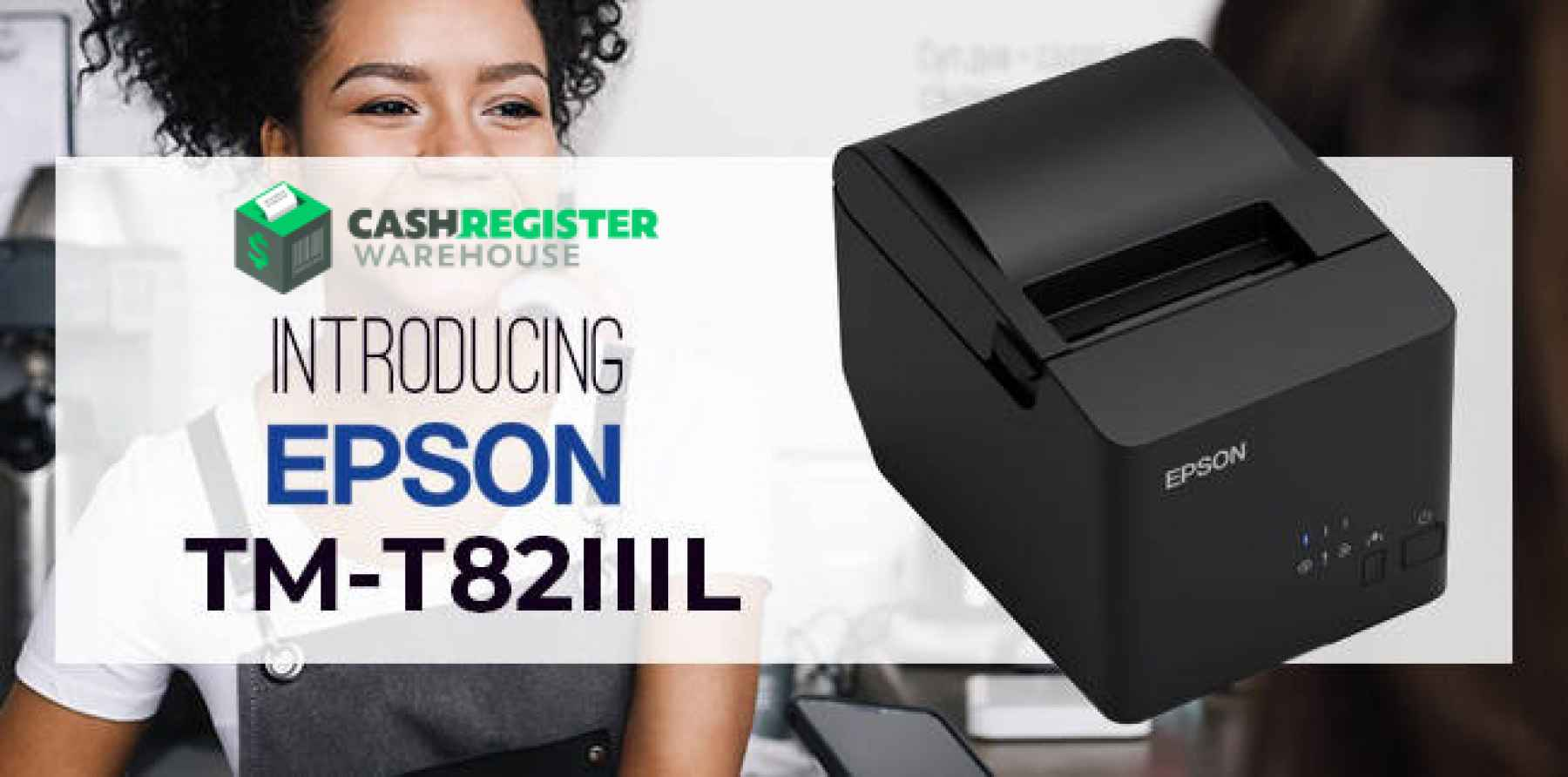 New Epson TM-T82IIIL Receipt Printer