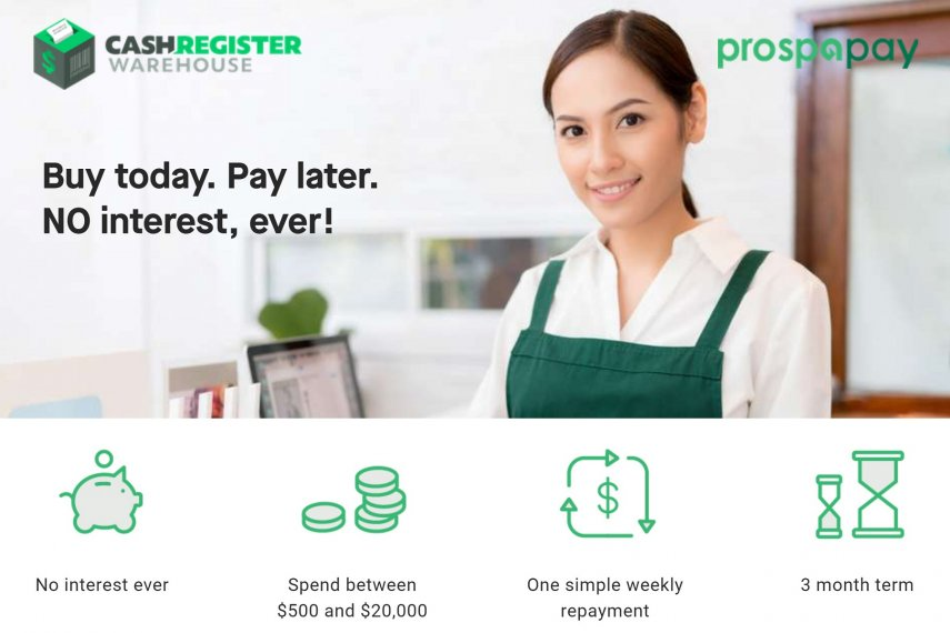 Interest Free POS Hardware & Equipment with Prospa Pay
