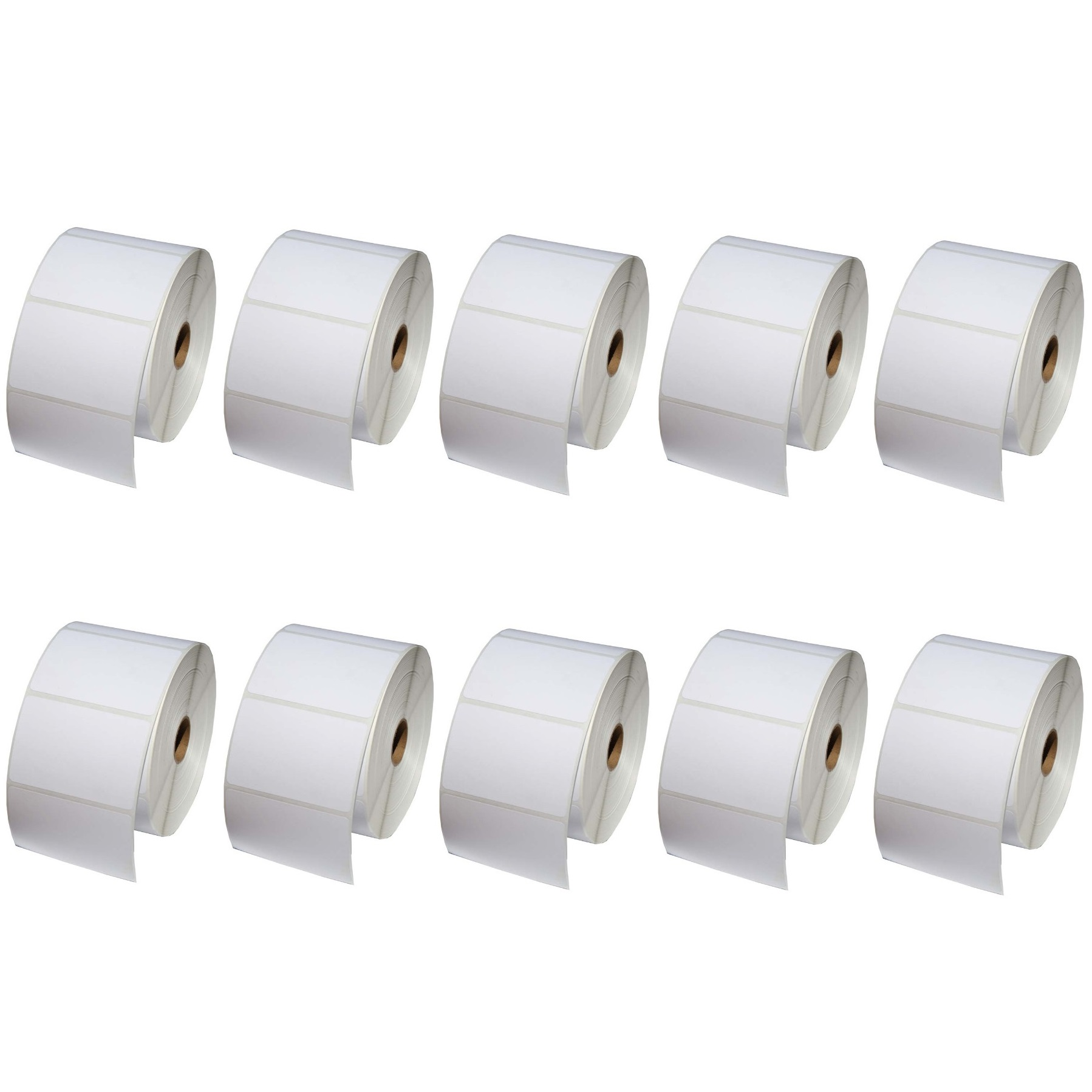 100x50 Direct Thermal Labels - 10 Rolls