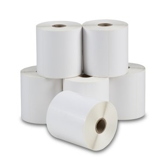 View Zebra 102X74 Direct Thermal Labels 750/Roll - 6 Rolls