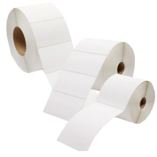 35x19 Thermal Transfer Labels 750/Roll - 6 Rolls