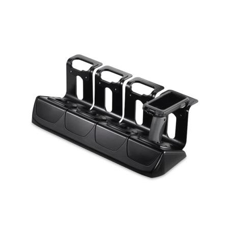 View 4-bay drop-in charger to suit Linea Pro 5 & 6 with Pistol Grip accessory