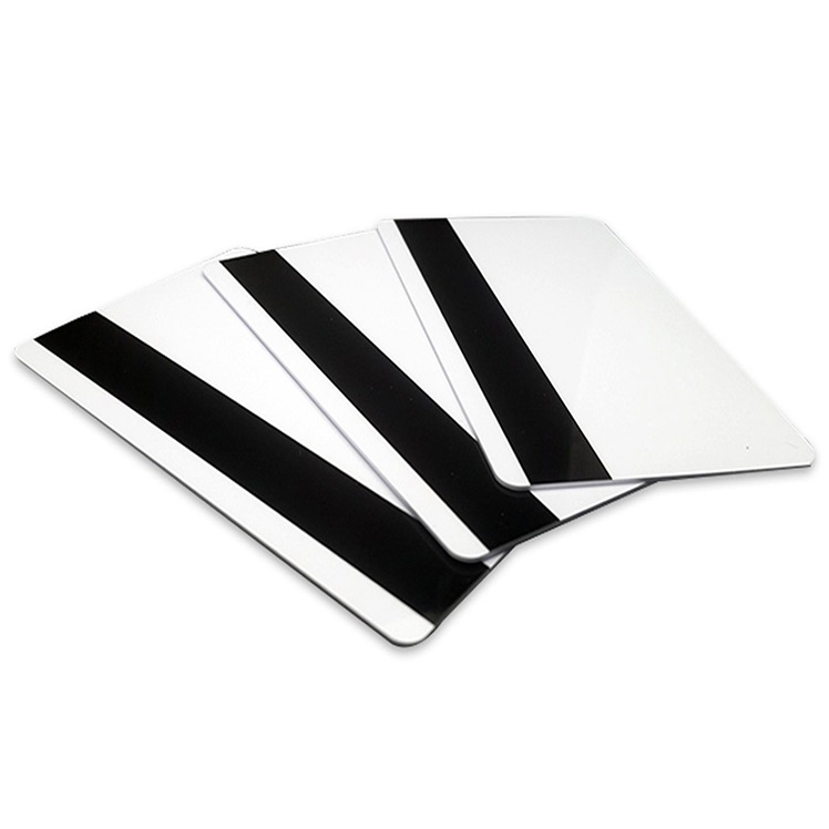 View 500 x 0.76mm Plain White Mag Stripe Hi-Co Cards
