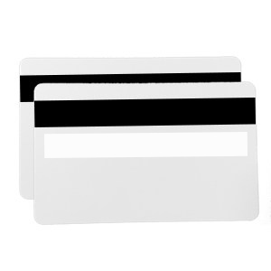 500 x 0.76mm White Card with Signature Panel & HiCo