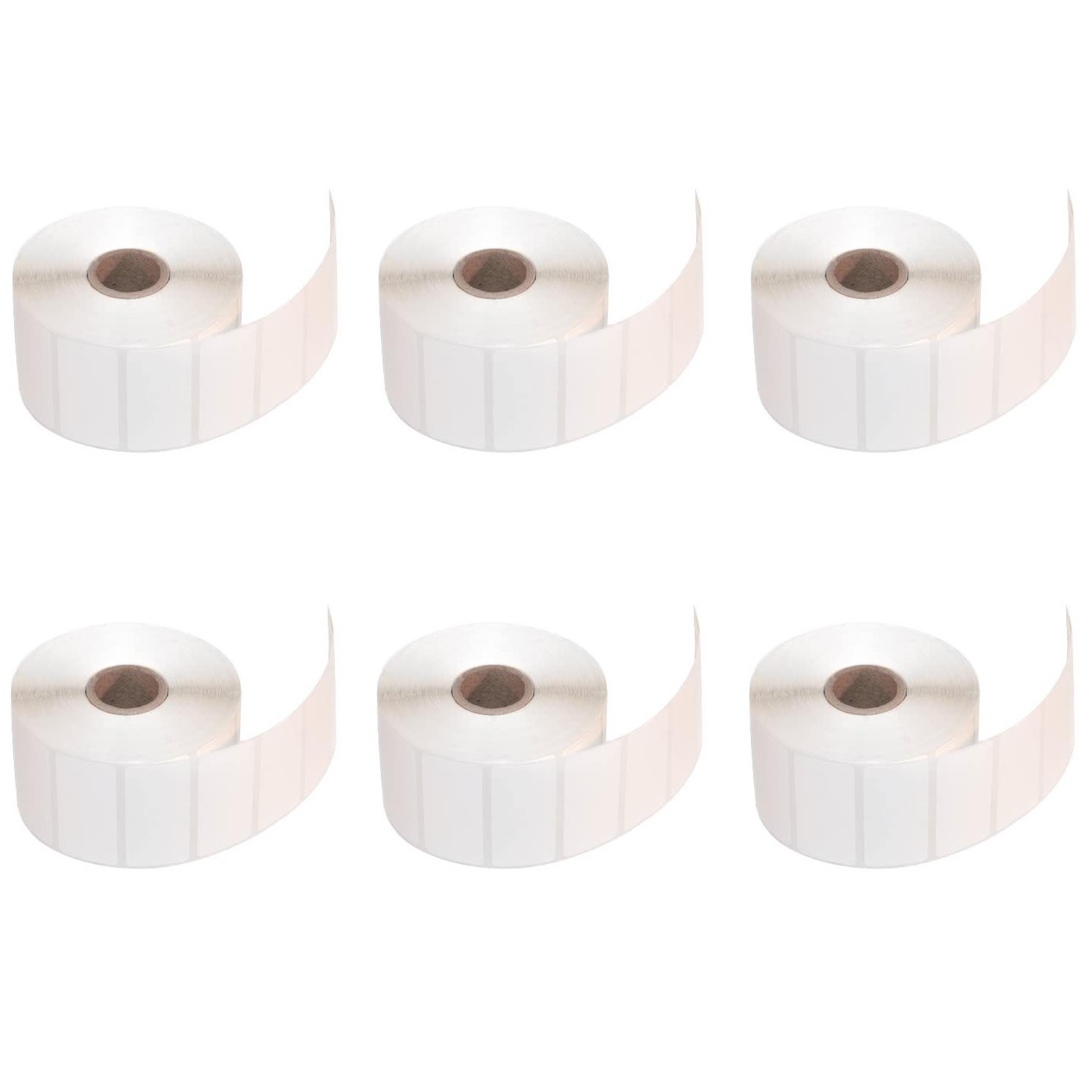 76x48 Direct Thermal Labels 1000/Roll - 6 Rolls