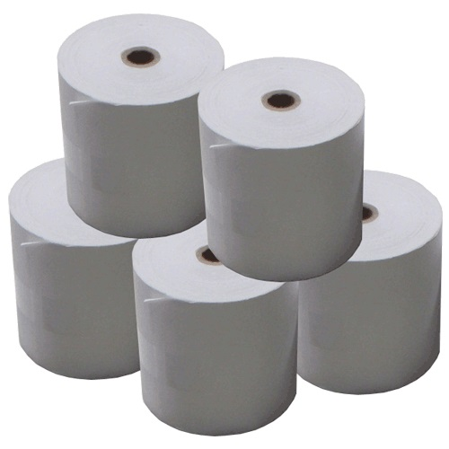View 80x80 Thermal Paper Rolls with 25mm Core