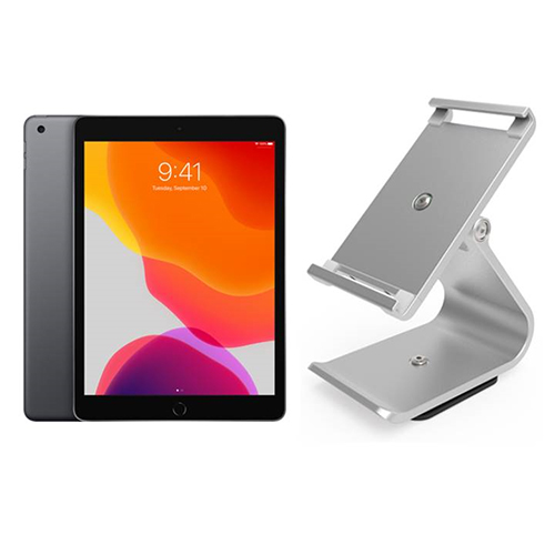 Apple iPad 10.2 Inch Tablet & VPOS iPad Stand