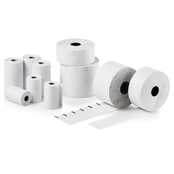View Bixolon 80mm by 82m B-Linerless Thermal Paper - 5 Rolls