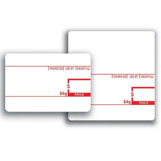 View CAS 58x60 Scale Labels (Pre-Printed) - 30 Rolls
