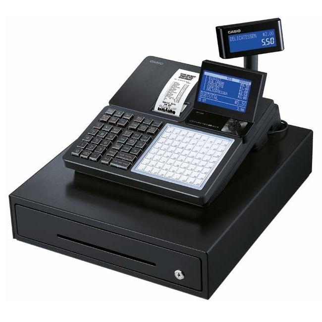 View Casio SRC550 Cash Register