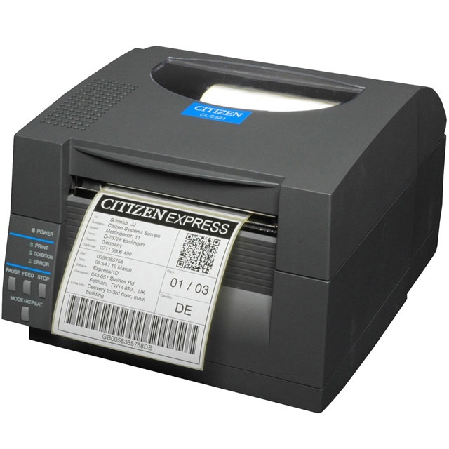 View Citizen CL-S521 Direct Thermal Label Printer