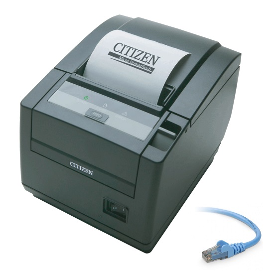 View Citizen Ct-s601ii Thermal Receipt Printer Ethernet