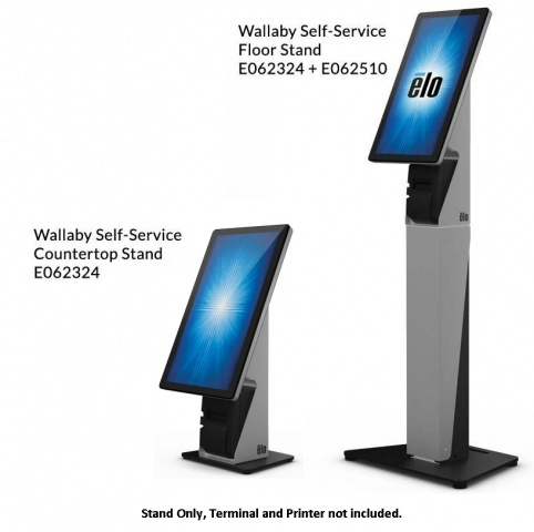 View ELO Wallaby Self Service Stand Desktop