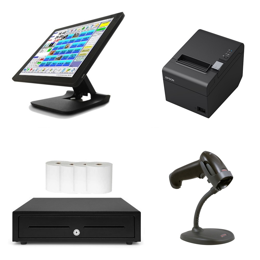 View Element 455 Touch Screen POS System Bundle #2