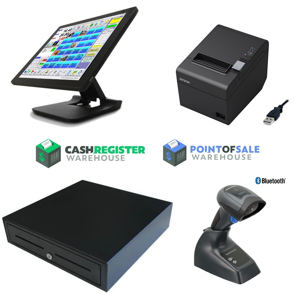 View Element 455 Touch Screen POS System Bundle #3