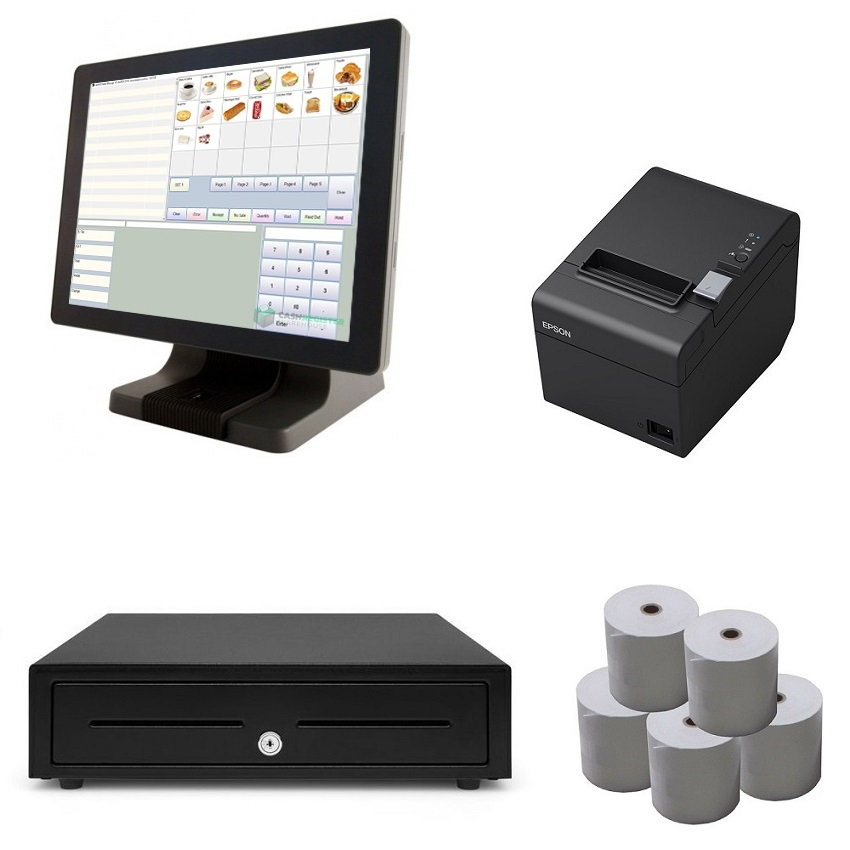 View Element 485 NeoPOS Touch Screen POS System Bundle
