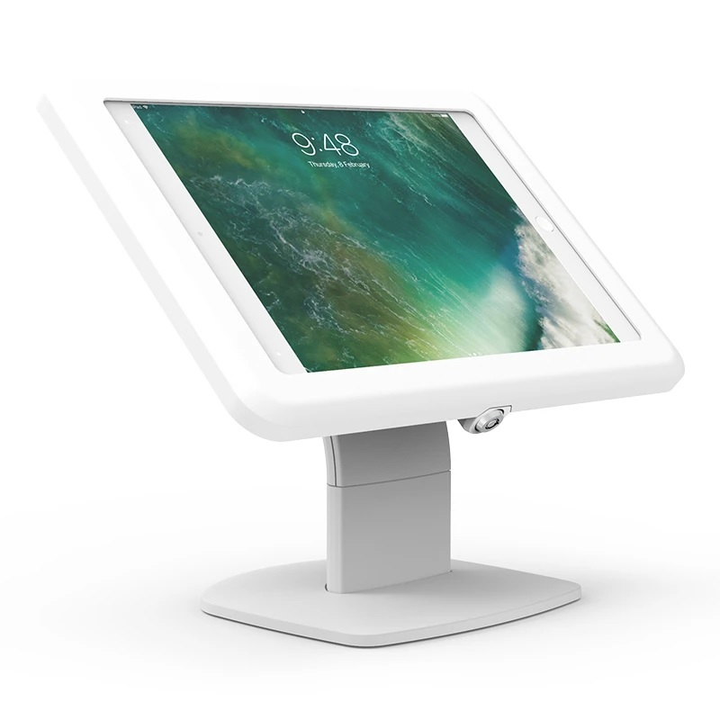 Elite Evo Free Standing iPad & Tablet Stand White