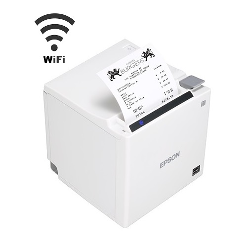 View Epson TM-M30II White Wireless Receipt Printer