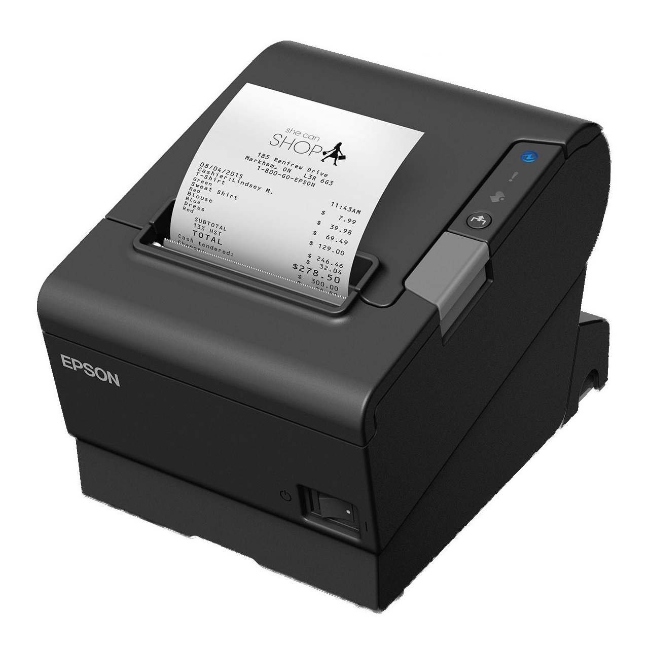 View Epson Tmt88vi Thermal Receipt Printer Usb+serial+ethernet