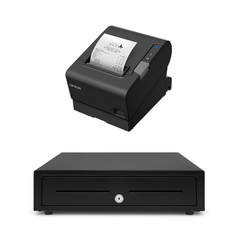 View Epson TM-T88VI + Cash Drawer Bundle
