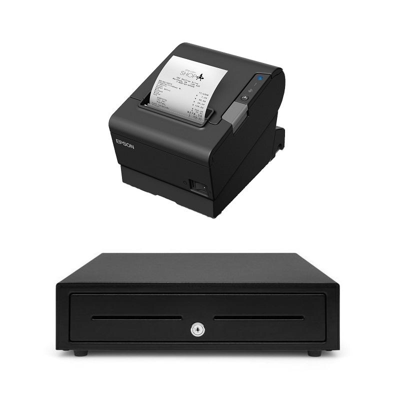 View Epson TM-T88VI + Cash Drawer Bundle