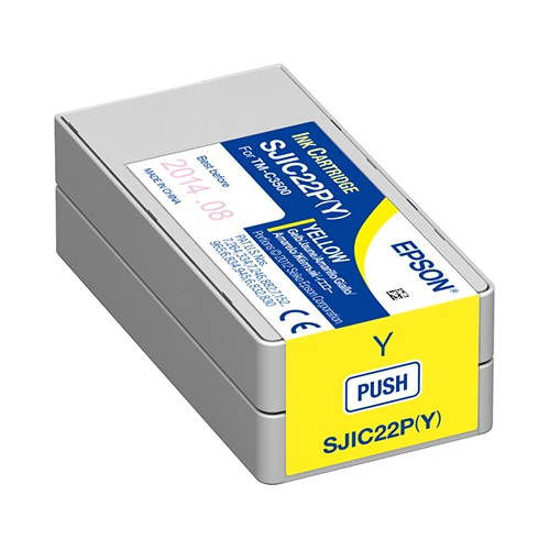 View Epson TMC3500 Yellow Ink Cartridge