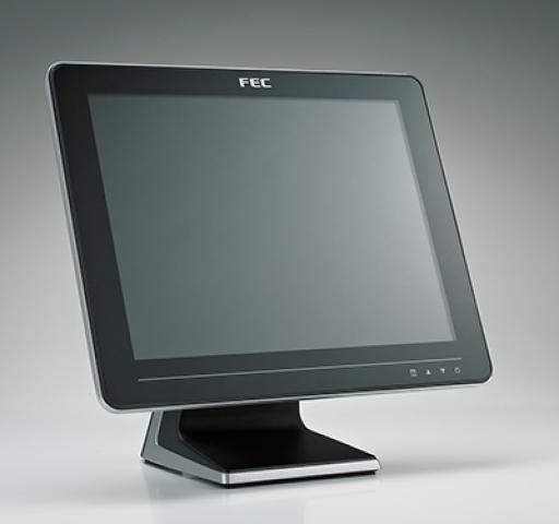 View Fec Aertouch Touch Monitor 15 Lcd P/cap Std Blk