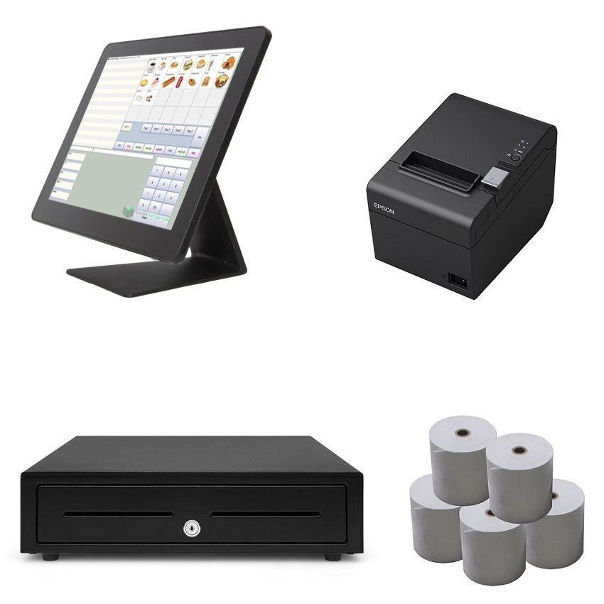 View FEC NeoPOS Touch Screen POS System Bundle
