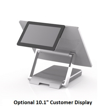 "View FEC XPOS 10.1"" Customer LCD Display compatible with XPOS XP-3685"