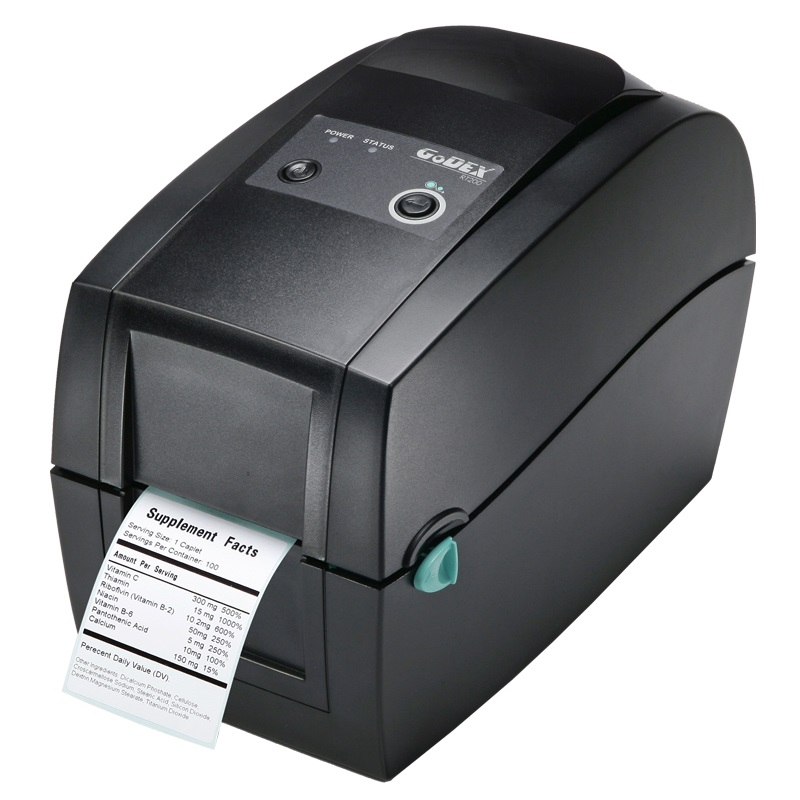 "View GoDEX RT200 2"" Label Printer"