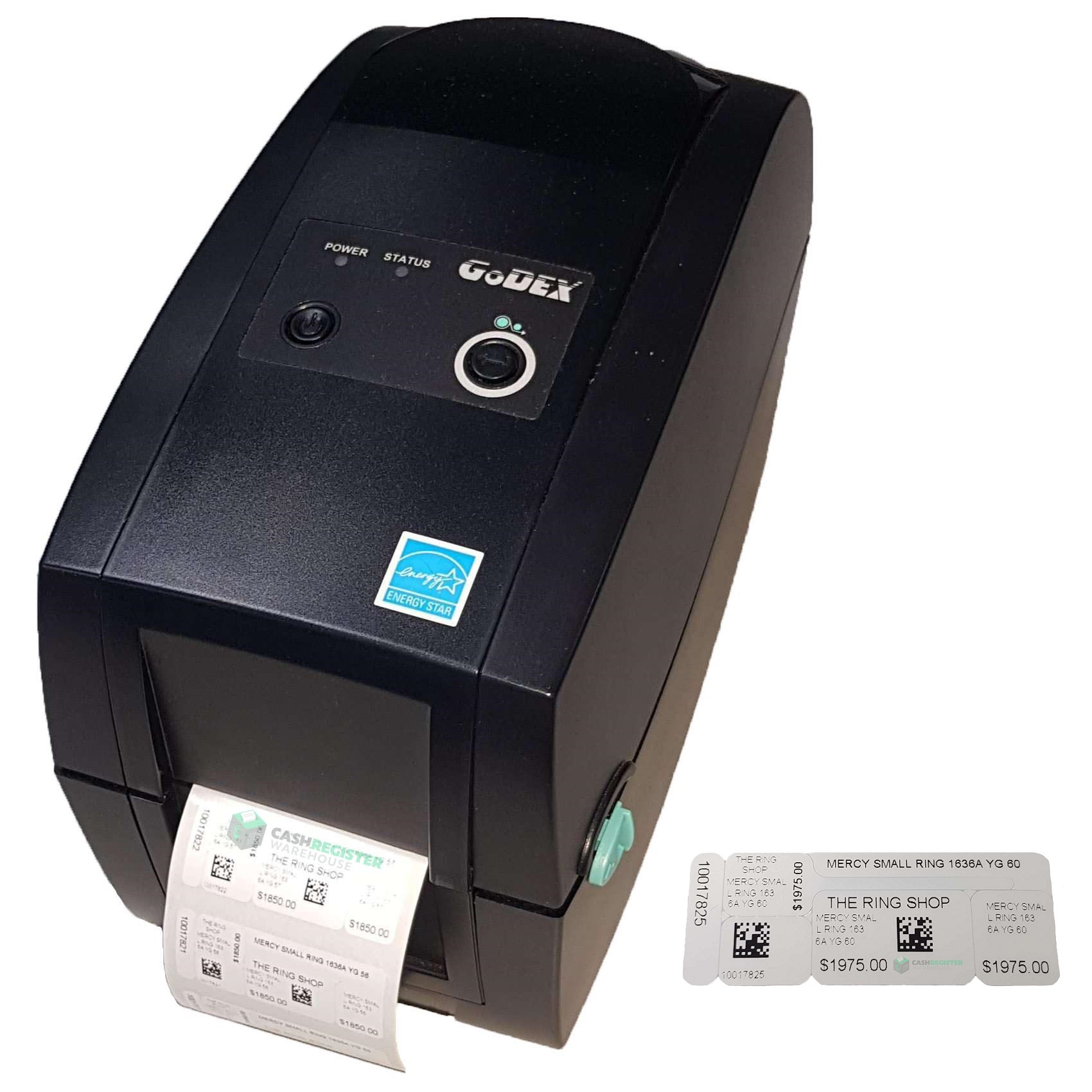 View GoDEX RT230 Jewellery Label Printer Bundle