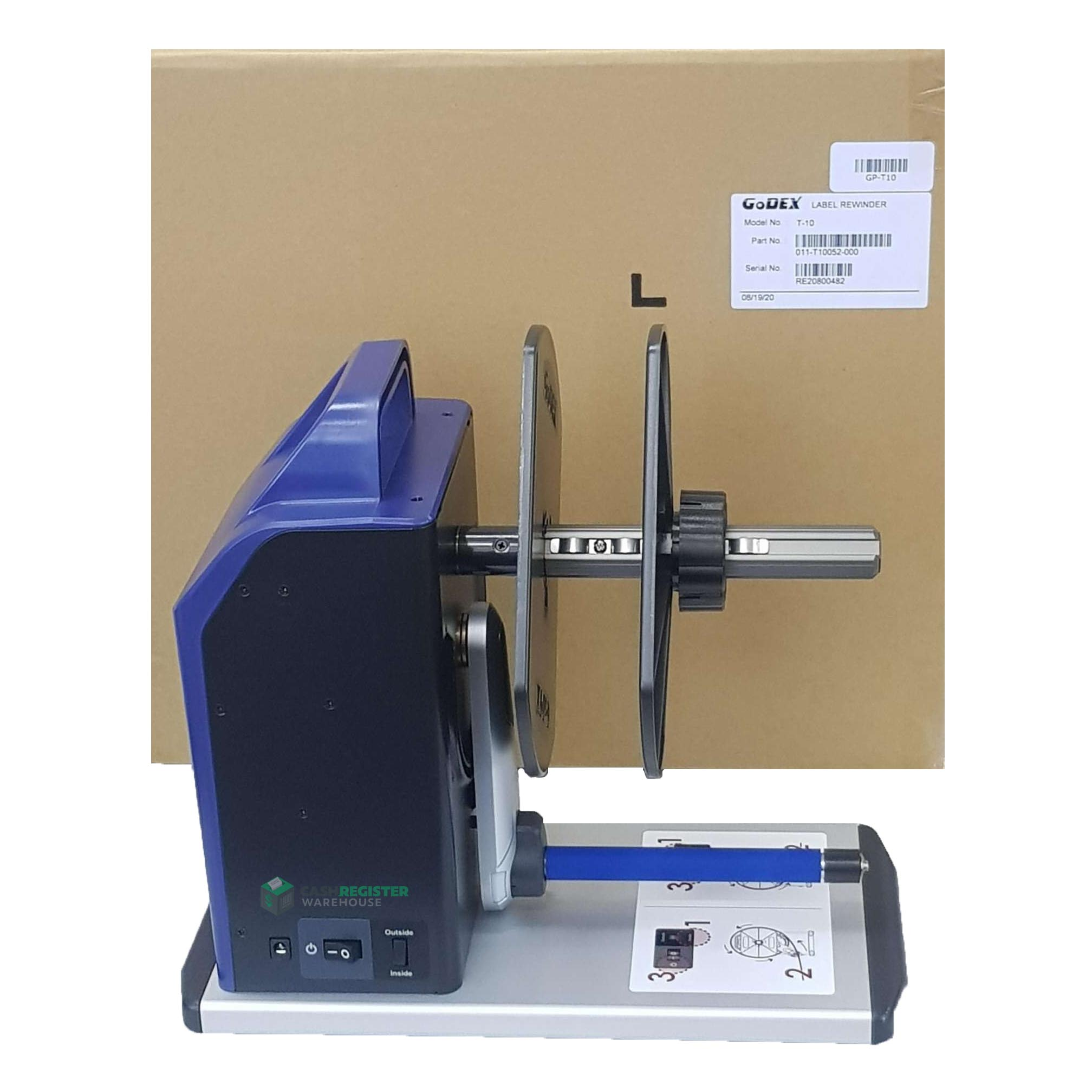View Godex T10 Label Rewinder