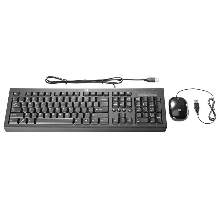 View HP Keyboard & Mouse Combo USB