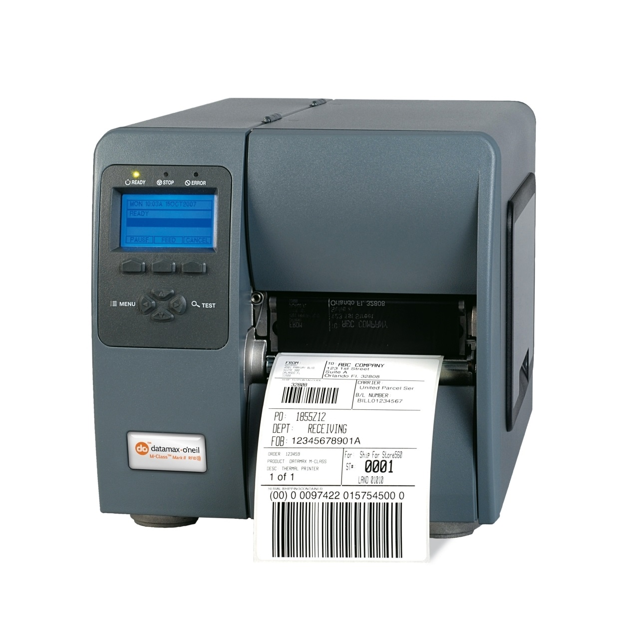 View Honeywell M-4206 203DPI Direct Thermal Label Printer with USB Serial & Ethernet