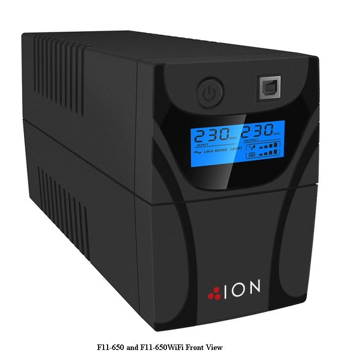 View ION F11 650VA Line Interactive UPS