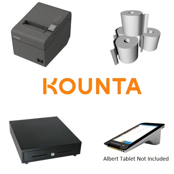 View Kounta Albert Pos Hardware Bundle