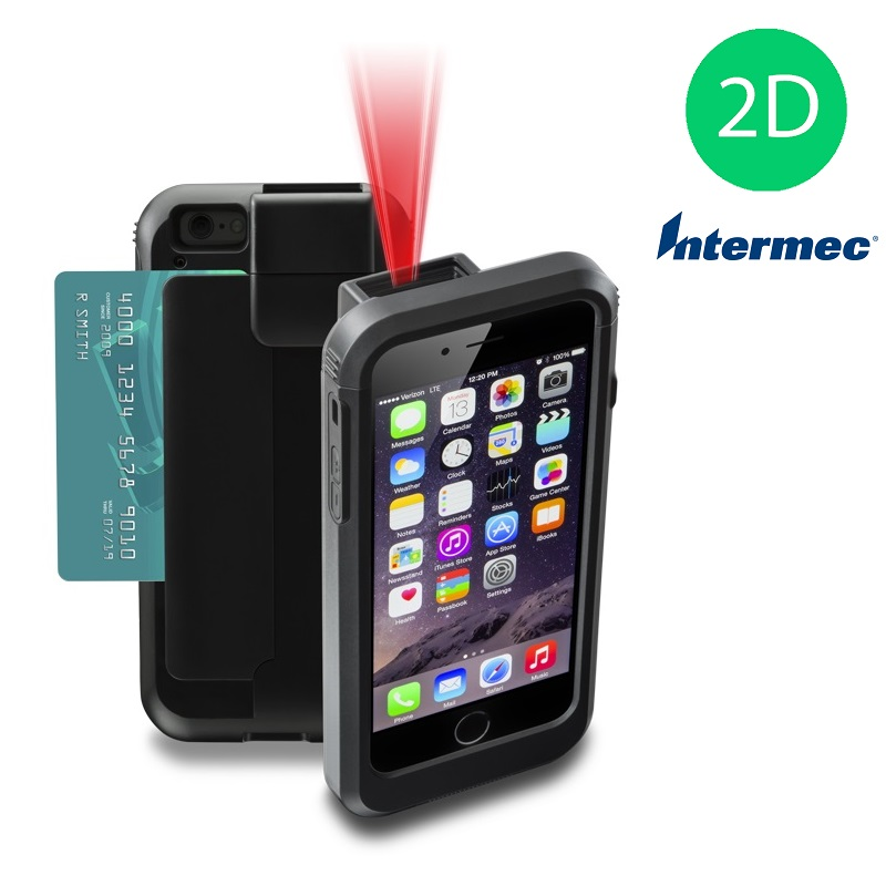 View Linea Pro 5 for iPod 5, iPod 6 & iPod 7 with MSR & 2D Intermec Scanner