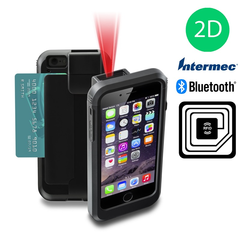 View Linea Pro 5 for iPod 5, iPod 6 & iPod 7 with MSR, 2D Intermec Scanner, Bluetooth & RFID