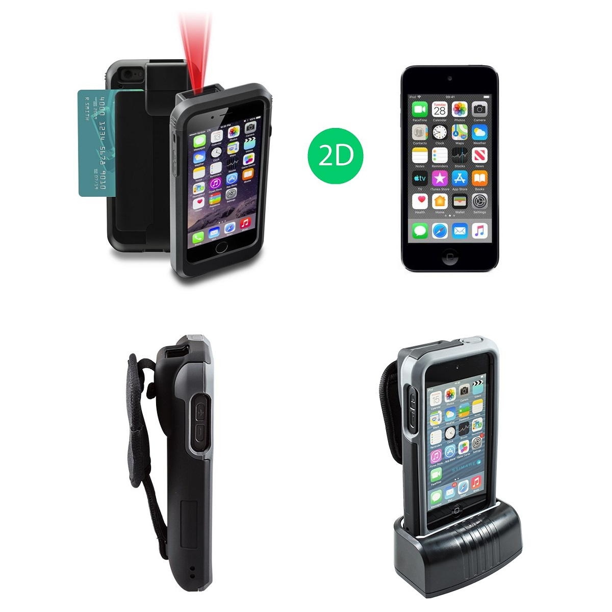 View Linea Pro 5 2D Scanner + Apple iPod Touch Bundle