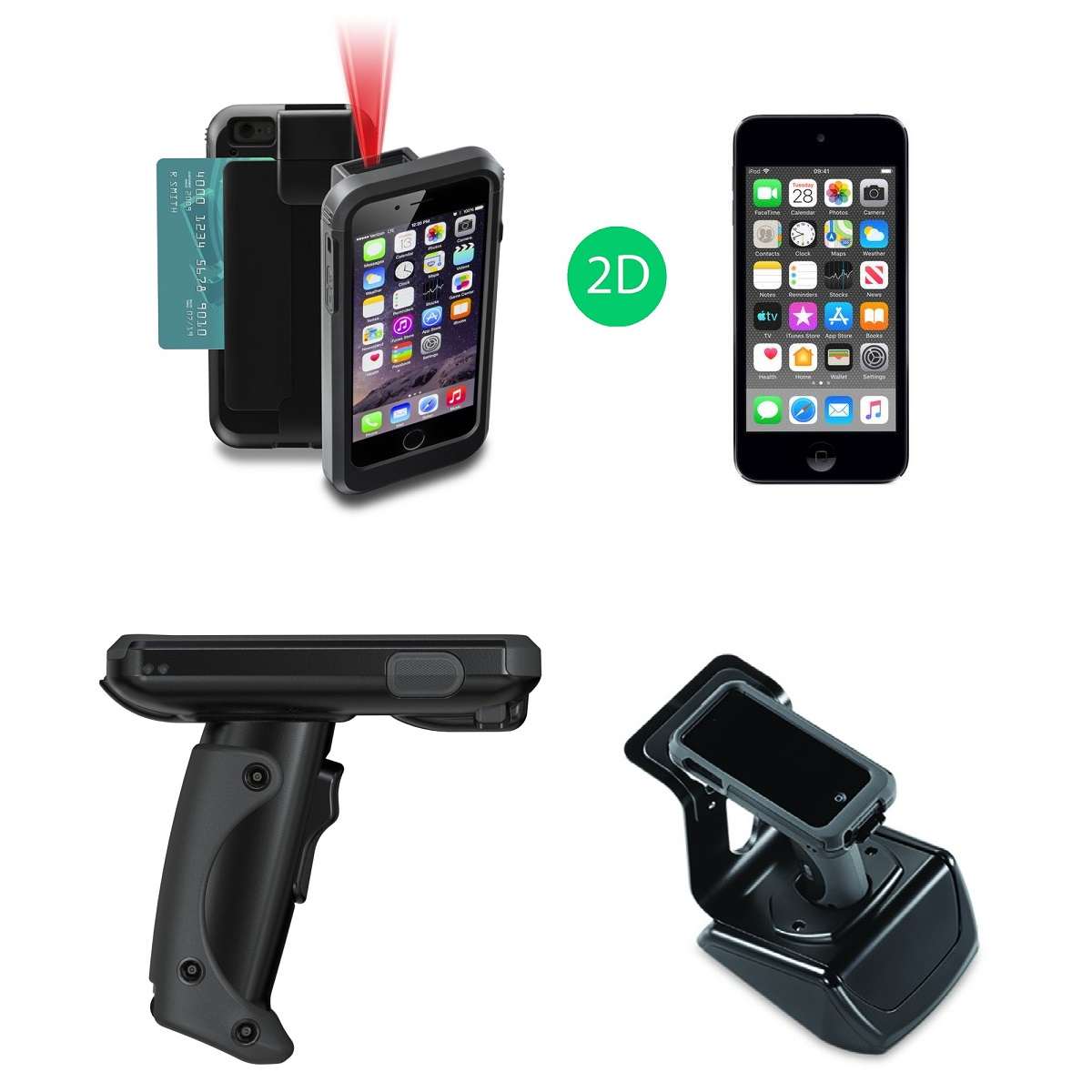 View Linea Pro 5 Scanner Bundle with iPod, Pistol Grip & Charger