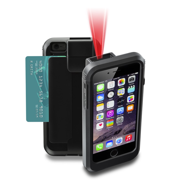 Linea Pro 7 - iPhone 6/6S/7/8 MSR/1D Scanner/Bluetooth