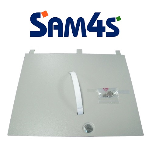 View Lockable Lid for Sam4s Cash Register Inserts