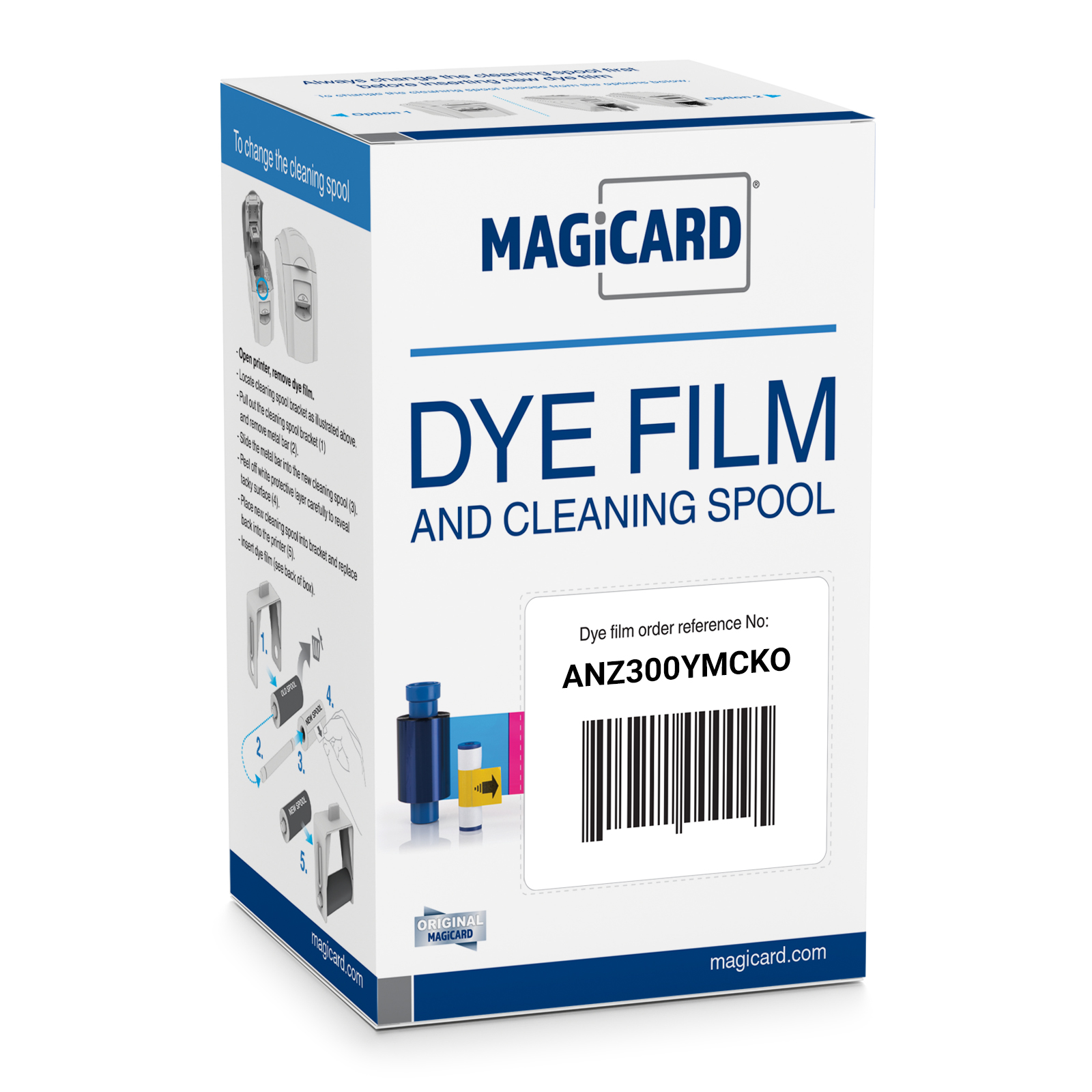 Magicard Colour Ribbon YMCKO (Prints 300 Cards)