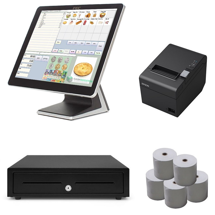 View NeoPOS AerPPC Touch Screen POS System Bundle