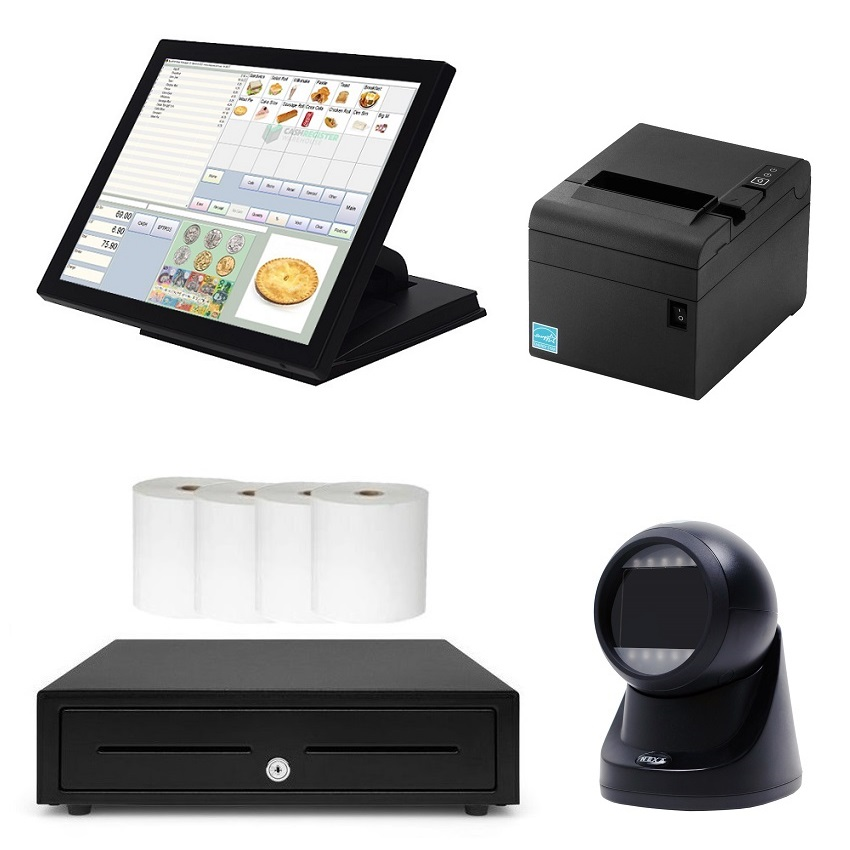 View NeoPOS NP1652 Scanning POS System Bundle