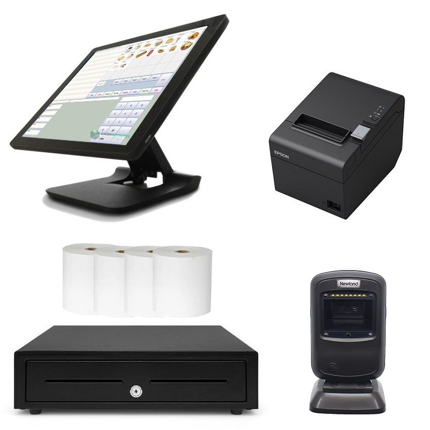View NeoPOS POS System Bundle with Newland FR4080 Barcode Scanner