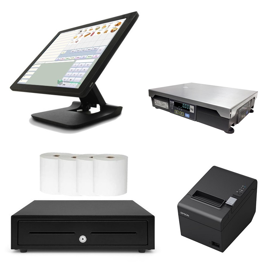 View NeoPOS POS System with CAS PDII Scale Bundle