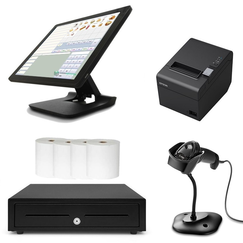 View NeoPOS Scanning POS System Bundle with Zebra DS2208 Barcode Scanner